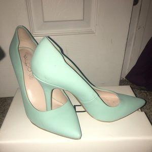 Aldo Mint Heels
